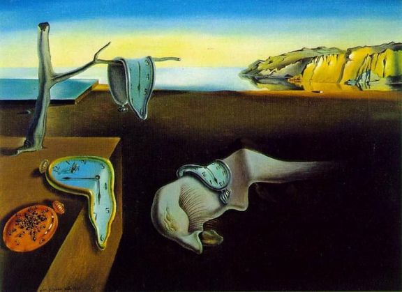 "It's a little known fact that my evocative description of how I feel when I have time off is what actually inspired Dali's ""The Persistence of Memory"""