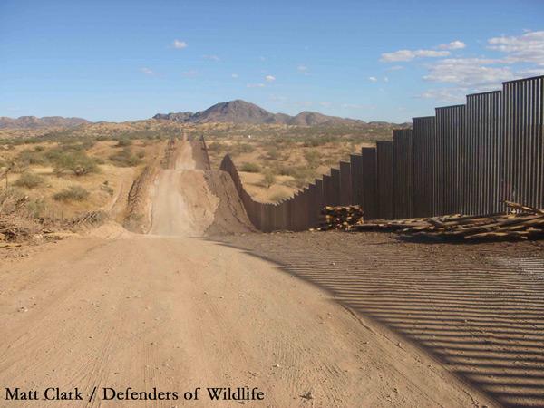 Border wall, Arizona