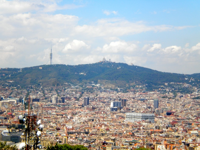 View from Parc de Montjuïc
