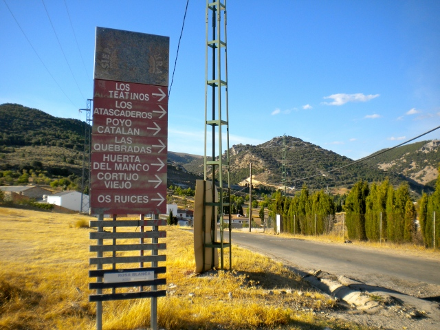 The toponyms of La Segura