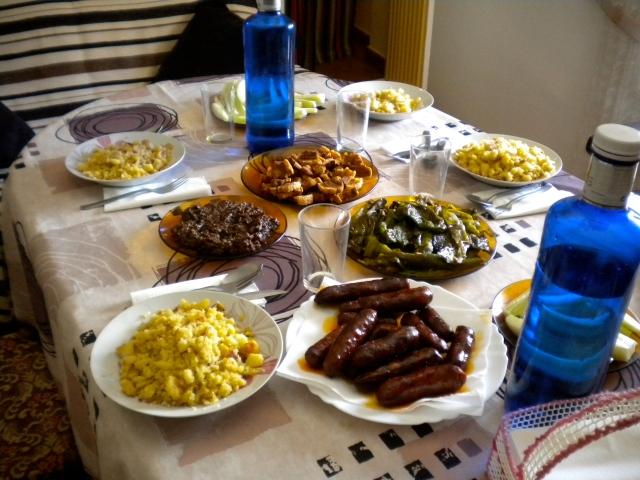 Migas lunch