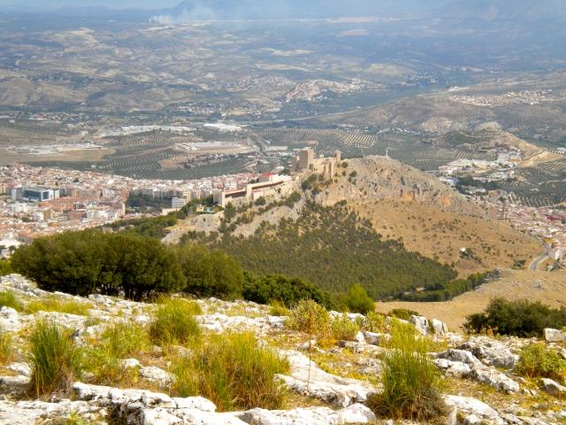 View of Castillo Santa Catalina from El Neveral