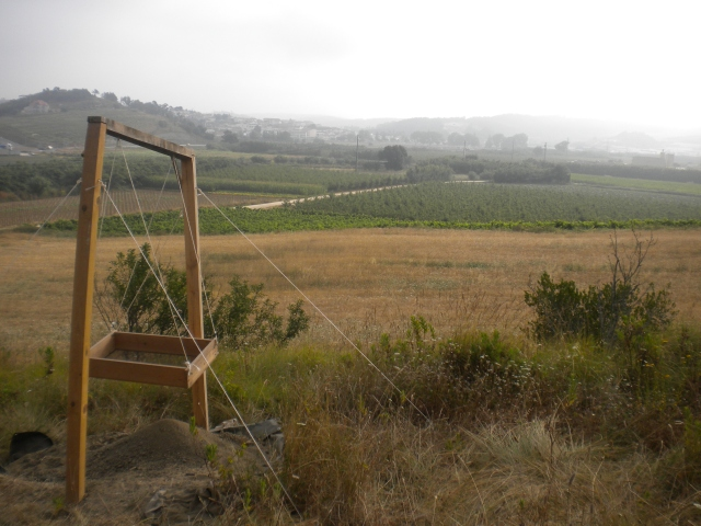 View from the site of Bolores, 2010.