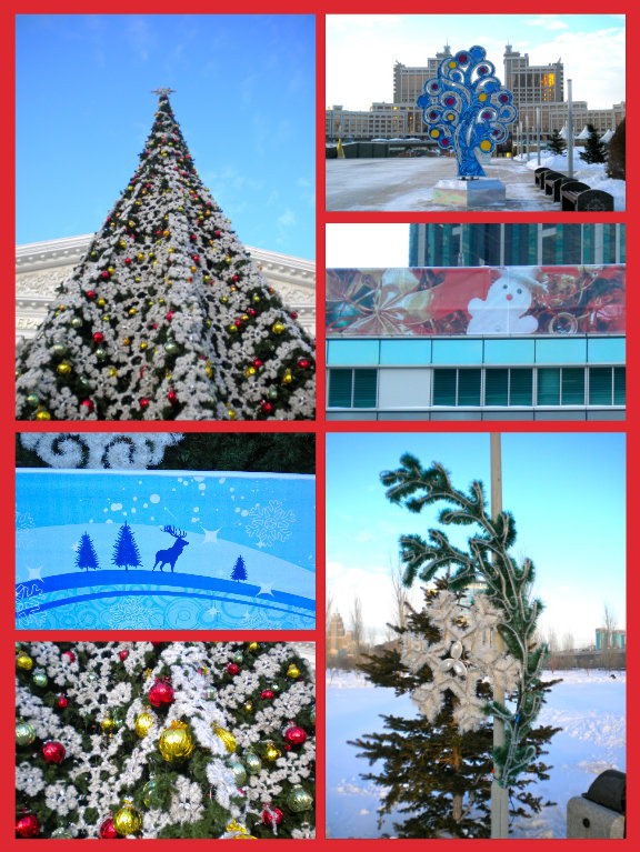 Astana Christmas Decorations