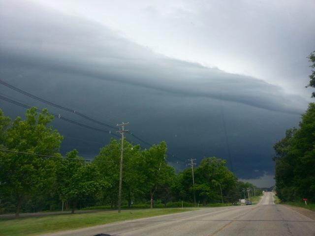 Storm over Marshall