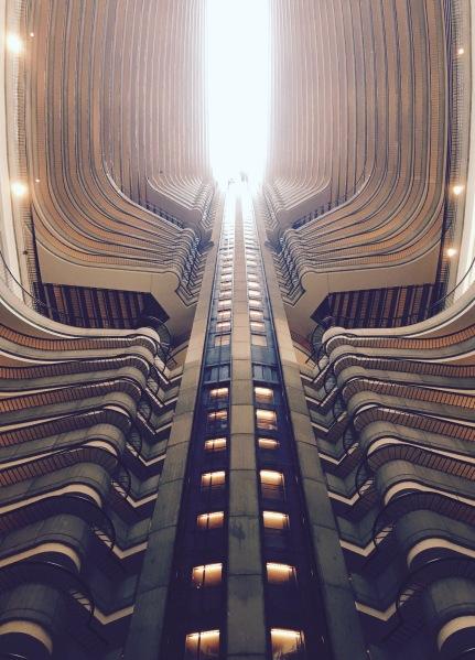 Elevator spine