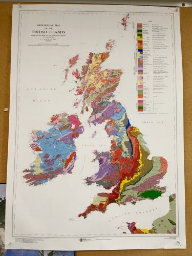 I need this map. Or a similar geological map of Spain.