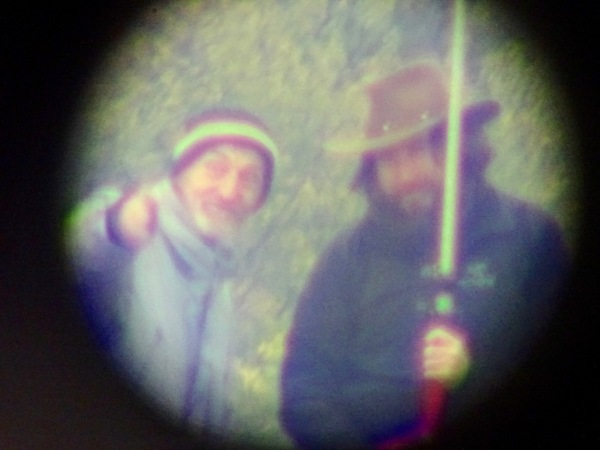 Colin and Horia, as seen through the total station