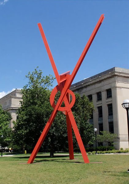 Orion (2006). Mark Di Suvero.